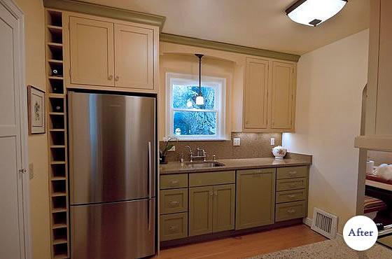 Brick Tudor Bremerton Modern Conveniences Kitchen Remodel Efficient ...