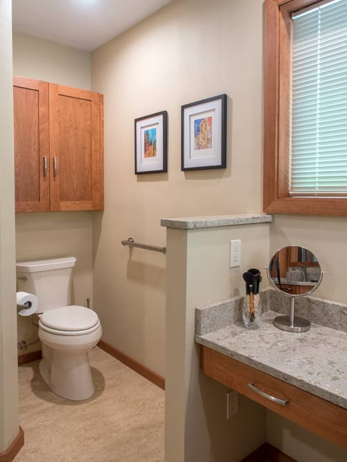 Port Orchard Bathroom Remodel Pental Quartz Dura Supreme